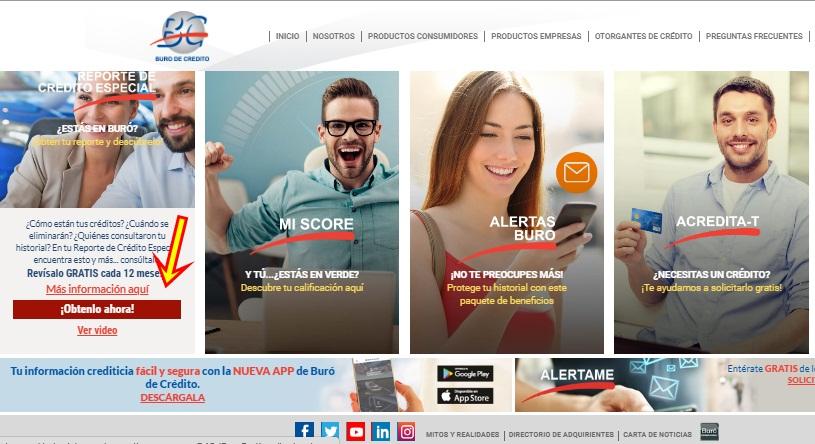 Cómo checar tu historial crediticio en Buró de Crédito