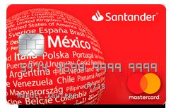 Tarjeta garantizada de Santander