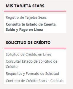 Crédito Sears
