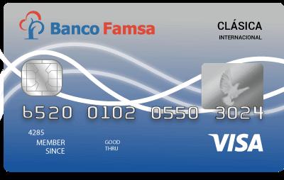 Tarjeta de Crédito Famsa Clásica