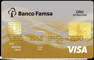 Tarjeta de Crédito Famsa Oro